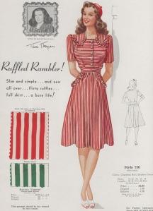 Ruffled Rambler