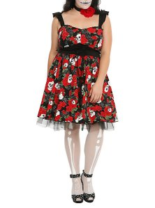 Day of the Dead dress HT