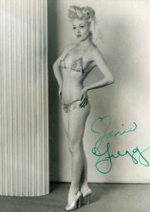 Janie Gregg 1940s