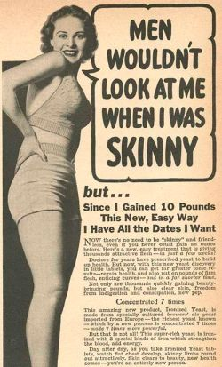 Weight gain 1940s