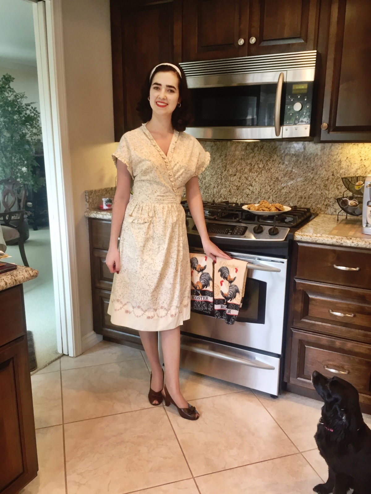 Me Made: A Bedsheet House Dress