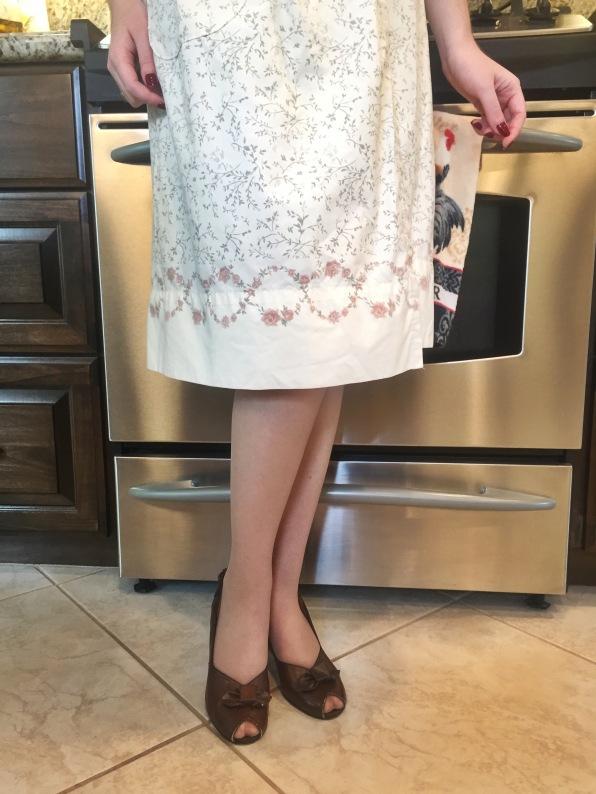 Me Made: A Bedsheet House Dress