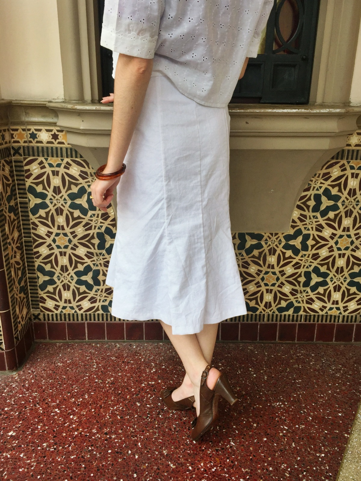 """Me Made: A 1930s """"Vintage Gal"""" Giveaway Skirt    The Homemade Pinup"""
